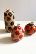 Alice Cheng Studio Polka Dot Small Vases