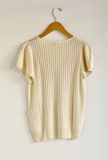 Sessun Pilha Lightweight Sweater Tee - Size L