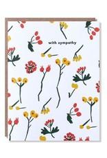 Egg Press Berry Sympathy Card