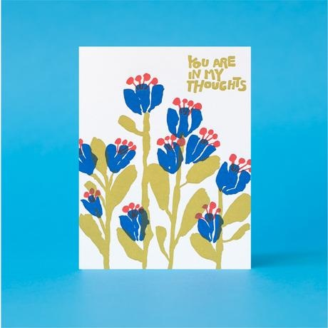Egg Press In My Thoughts Card