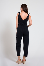 Loup Slate Black Stretch Twill Coveralls - size S
