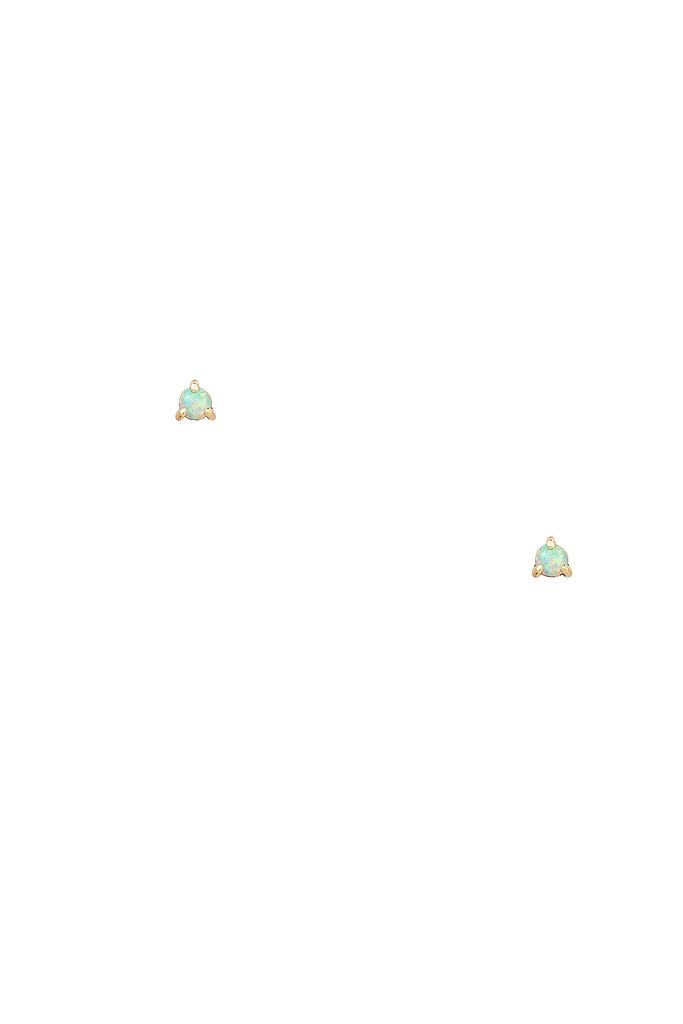 Small Opal Studs