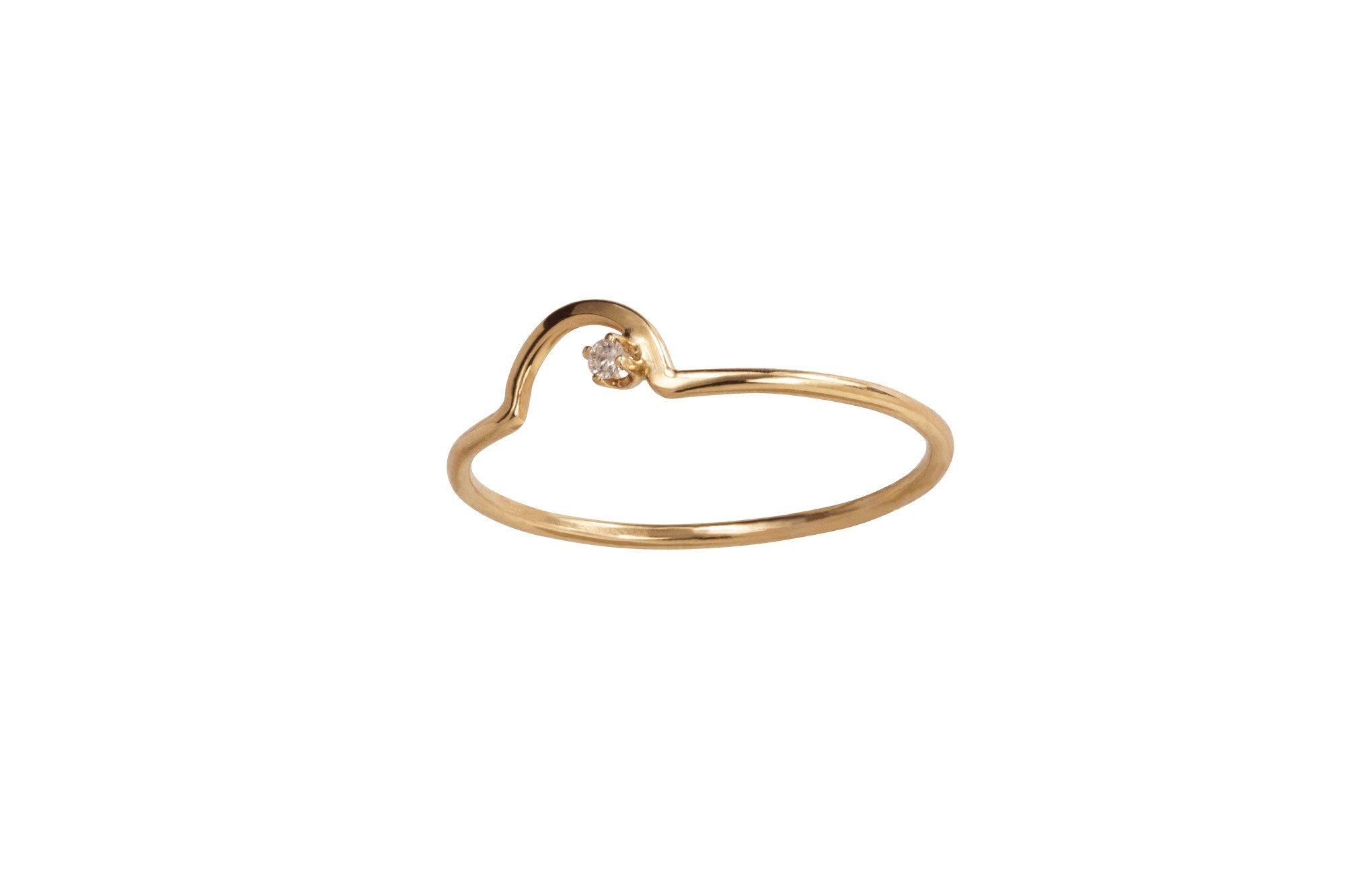 Arc Lineage Ring , 14KT , size 7