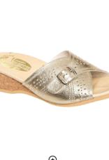 Worishofer Worishofer Leather Slip On Sandal