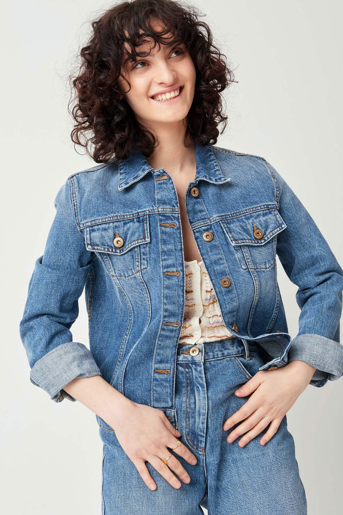 Sessun Montgomery Denim Jacket - Size S