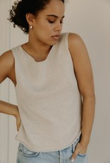 Bare Knitwear Serene Cotton Knit Tank