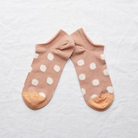 Bonne Maison Pois Anklet Sock