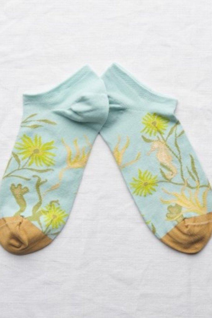 Bonne Maison Hippocampe Anklet Sock