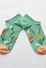 Bonne Maison Ankle Socks Ming Tulip