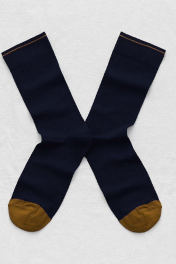 Bonne Maison Uni Colorblock Socks- Multiple Colors