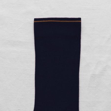 Bonne Maison Uni Colorblock Socks- Multiple Colors