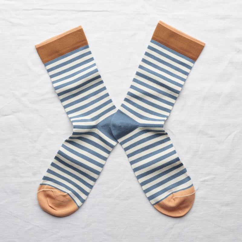 Bonne Maison Striped Socks  Multiple Colors