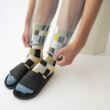 Bonne Maison Carreaux Socks - Multiple Colors