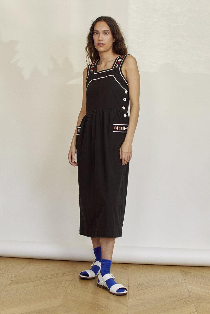 Sideline Sunrise Dress Black - Size M