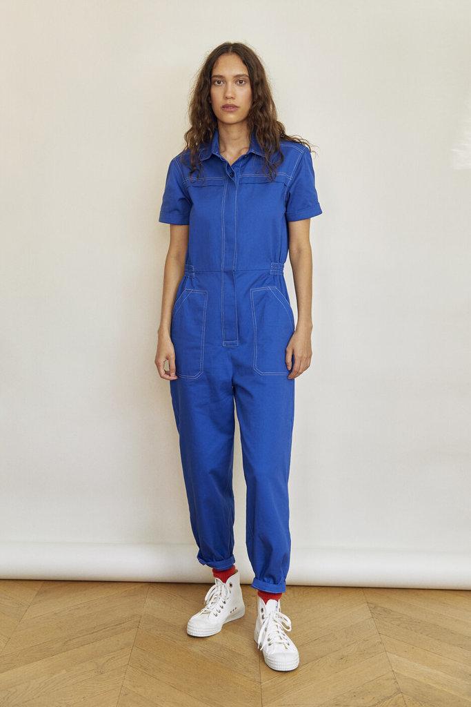 Sideline Lola Jumpsuit Blue - Size S