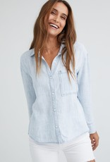 Bella Dahl Pleat Back Pocket Shirt