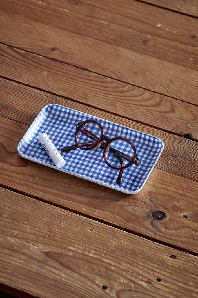 Fog Linen Work Linen Coated Tray Small - Multiple Colors