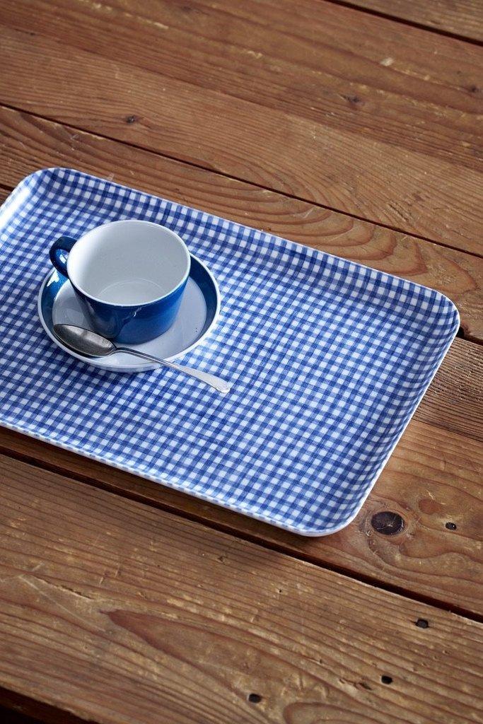 Fog Linen Work Linen Coated Tray Medium - Multiple Colors