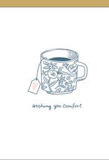Egg Press Comfort Tea Card