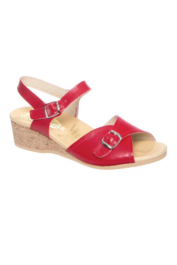 Worishofer Worishofer Ankle Wedge Sandals