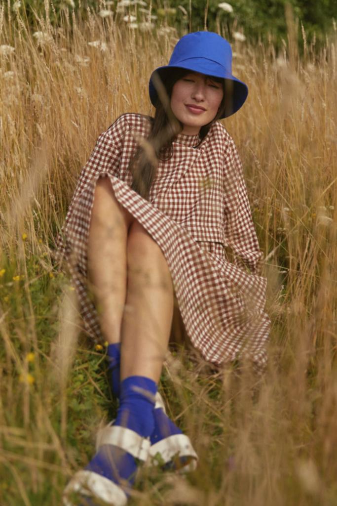 Sideline Farrow Hat Blue