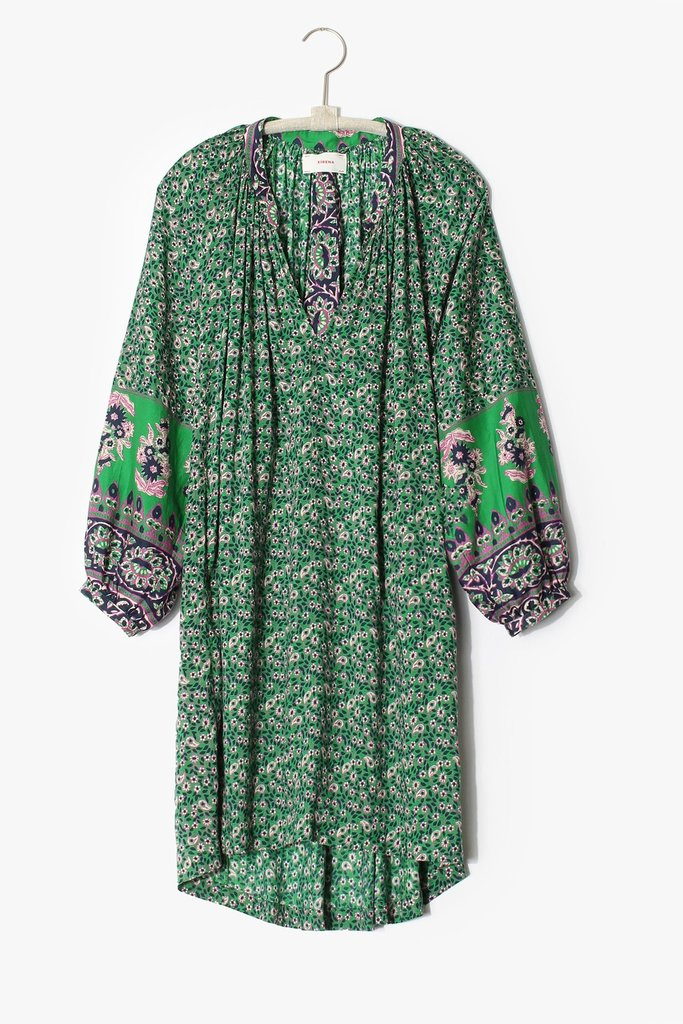 Xirena Hart Dress Intro Vert Print - Size XS
