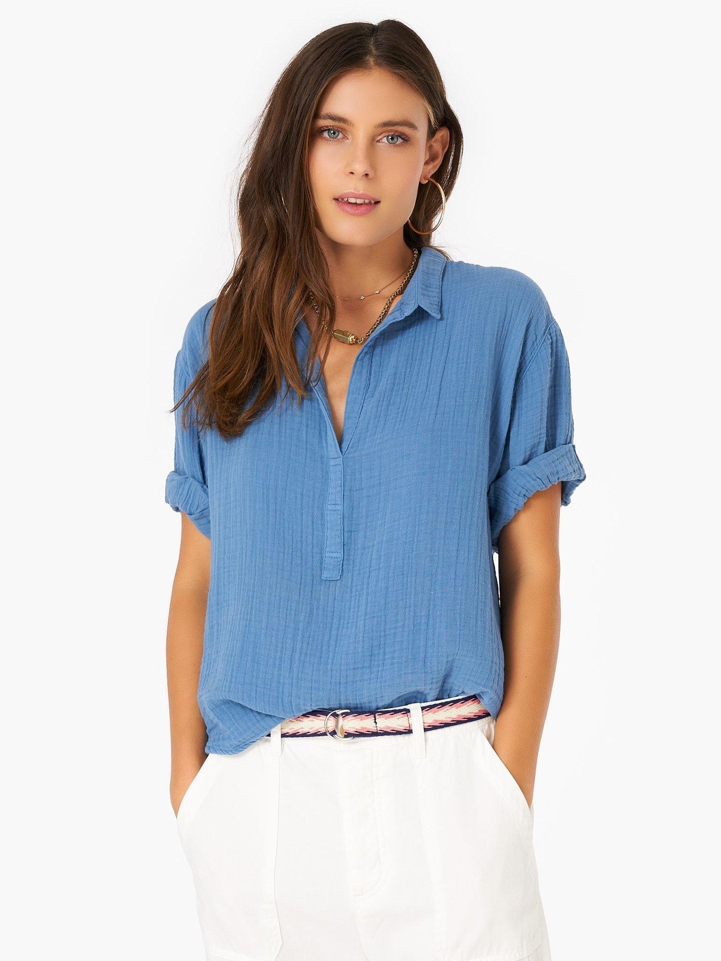 Xirena Cruz Shirt Oceans