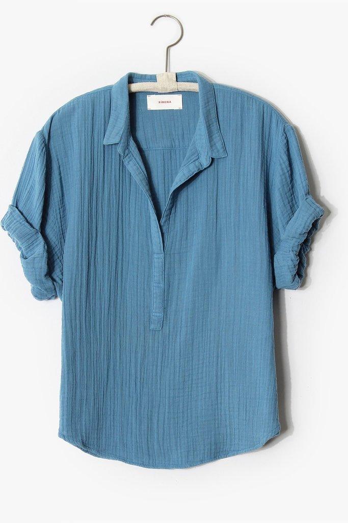 Xirena Cruz Shirt Ocean