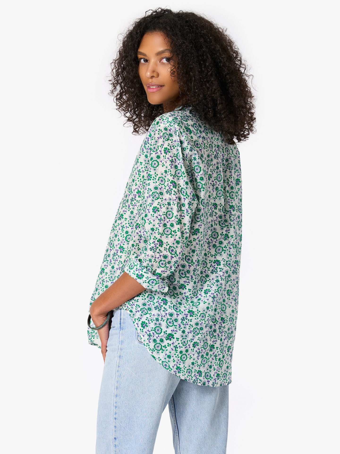 Xirena Beau Shirt Leaf