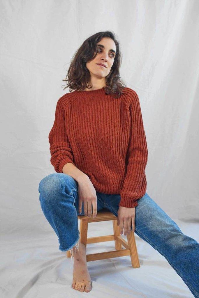 Lenvers Brigitte Cotton Pullover OS