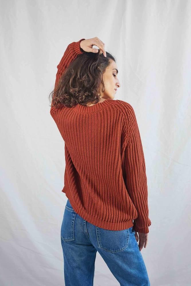 Lenvers Brigitte Cotton Pullover OS - Two Colors
