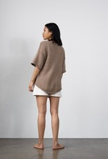 Wol Hide Loose Pullover Cotton Sweater