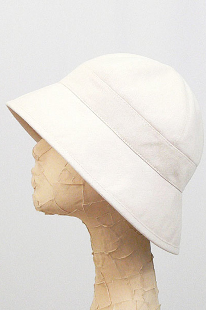 Tsuyumi Cotton Twill Round Top Hat - Two Colors