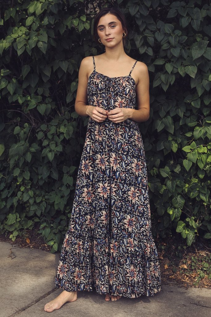 Mille Sienna Maxi Dress Midnight Garden