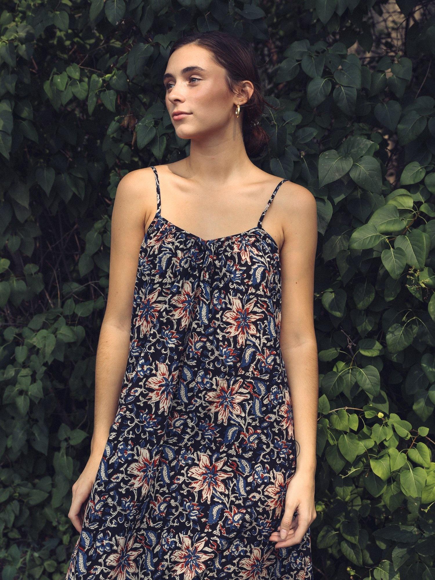 Mille Sienna Maxi Dress Midnight Garden