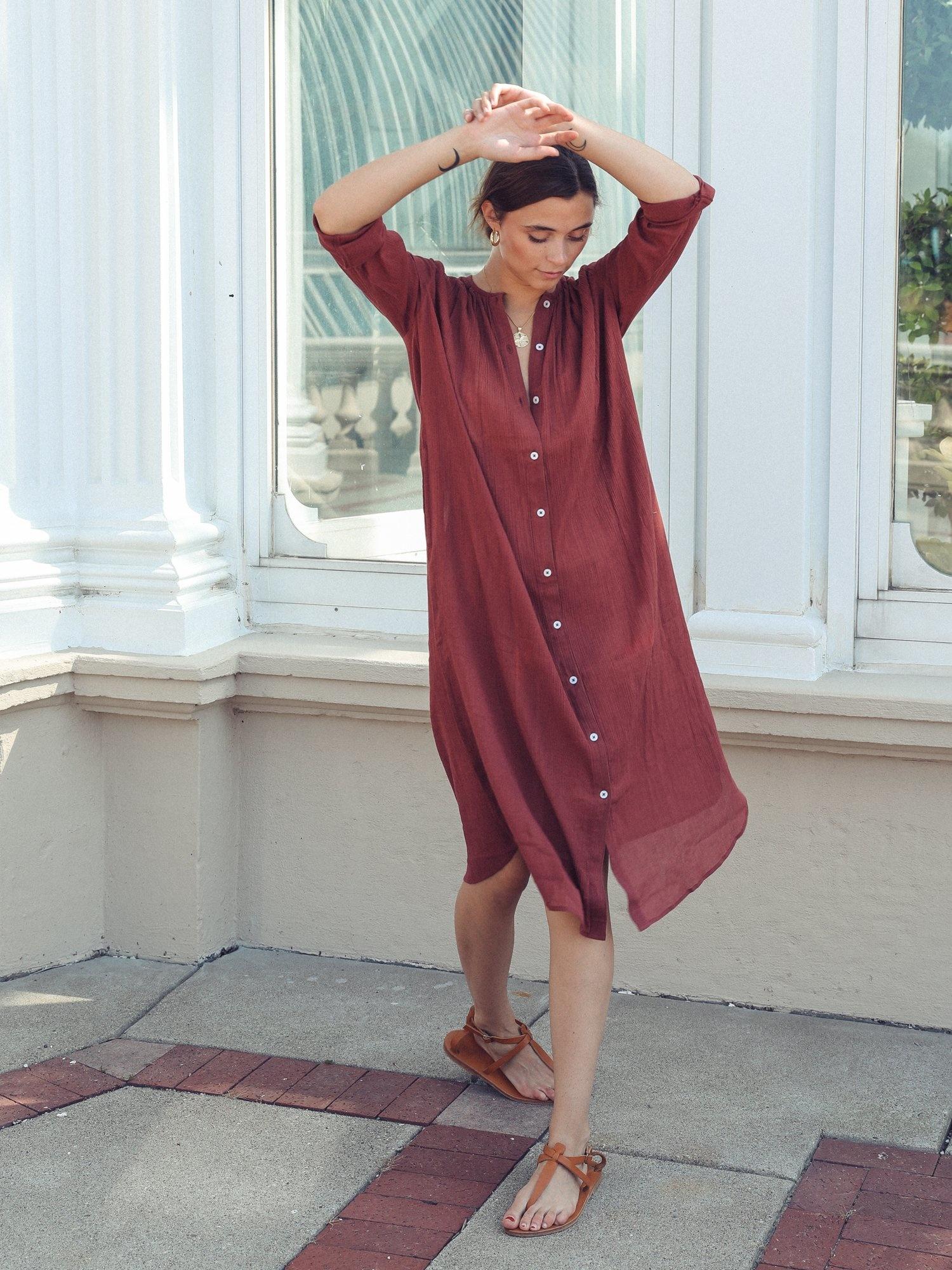 Mille Jasmine Dress Canelle