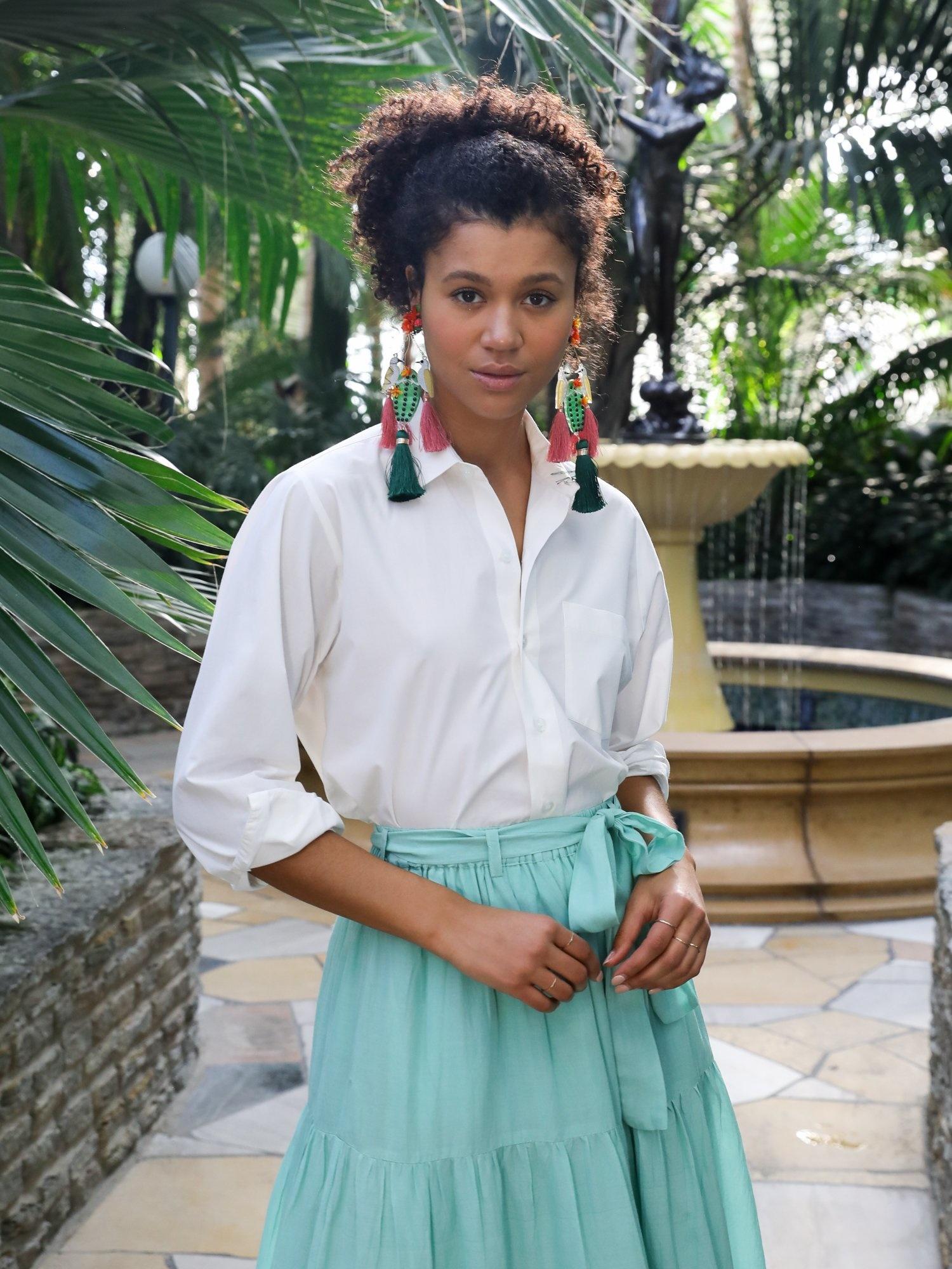 Mille Sofia Button Down Shirt - Size S