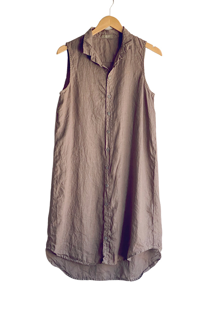 CP Shades Mara Sleeveless Shirt Dress