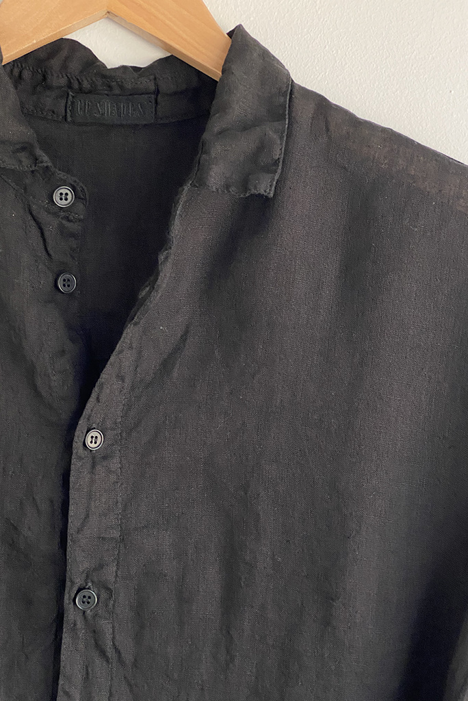 CP Shades Rooney Boxy Button Up Linen Top