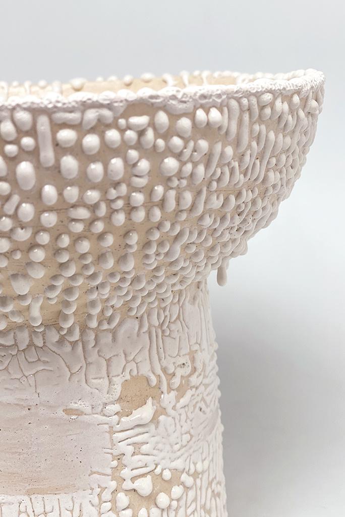 Alice Cheng Studio Footed Bump Pedestal Bowl
