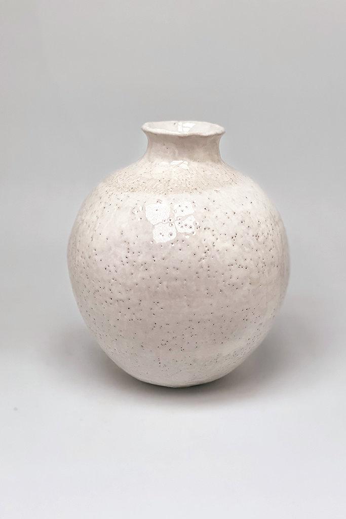 Alice Cheng Studio Glossy Moon Vase
