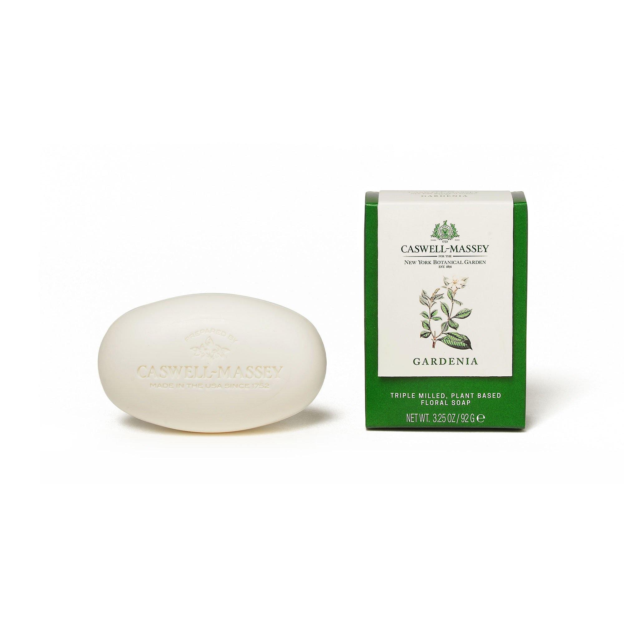 Caswell Massey NYBG Gardenia Bar Soap