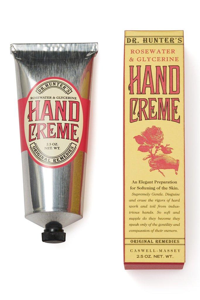 Caswell Massey Dr. Hunter's Rosewater Hand Cream