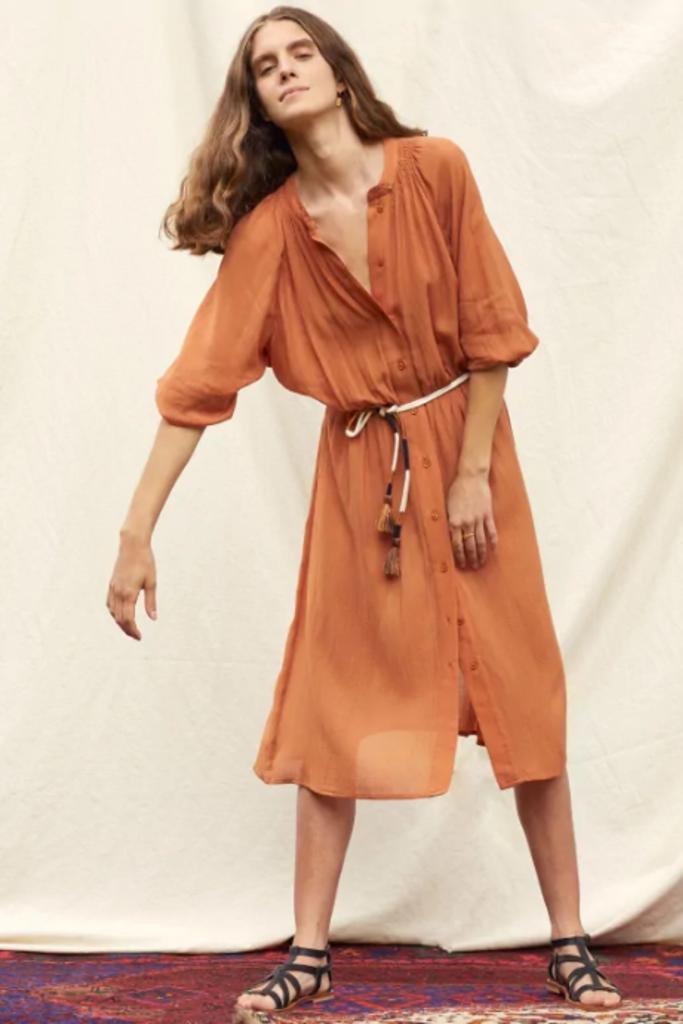 Sessun Cometa Belted Dress - Size L