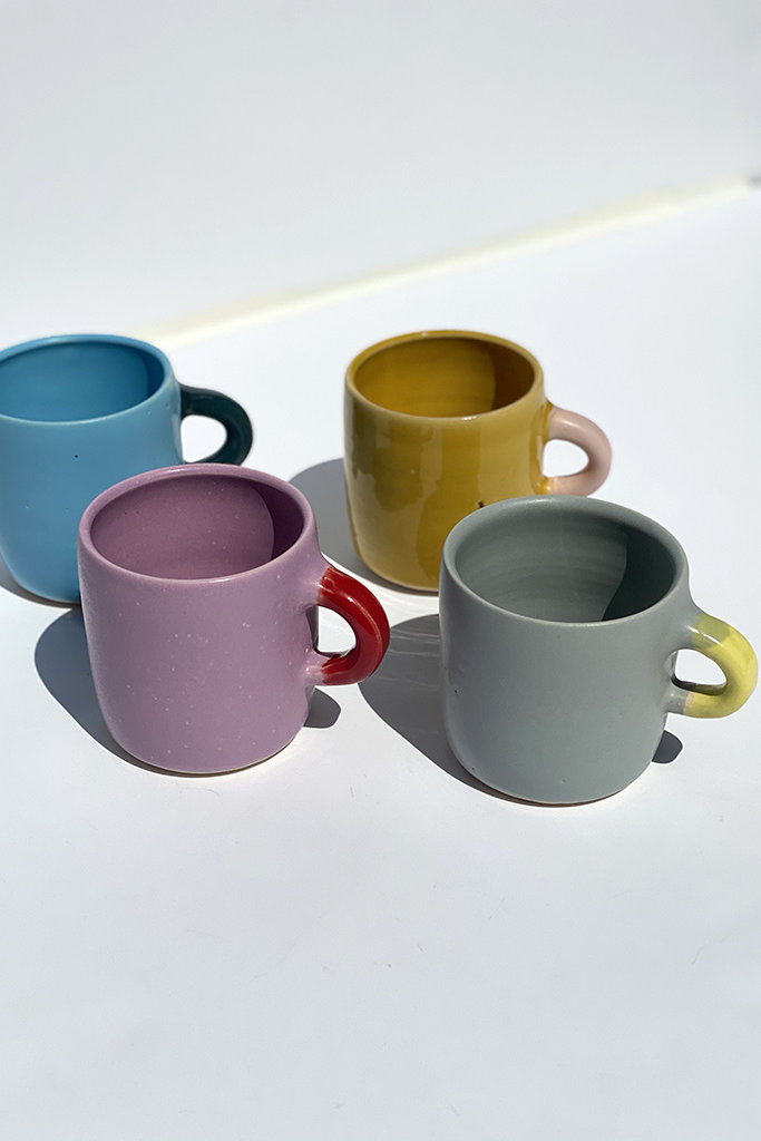 Alice Cheng Studio Colorblock Mugs