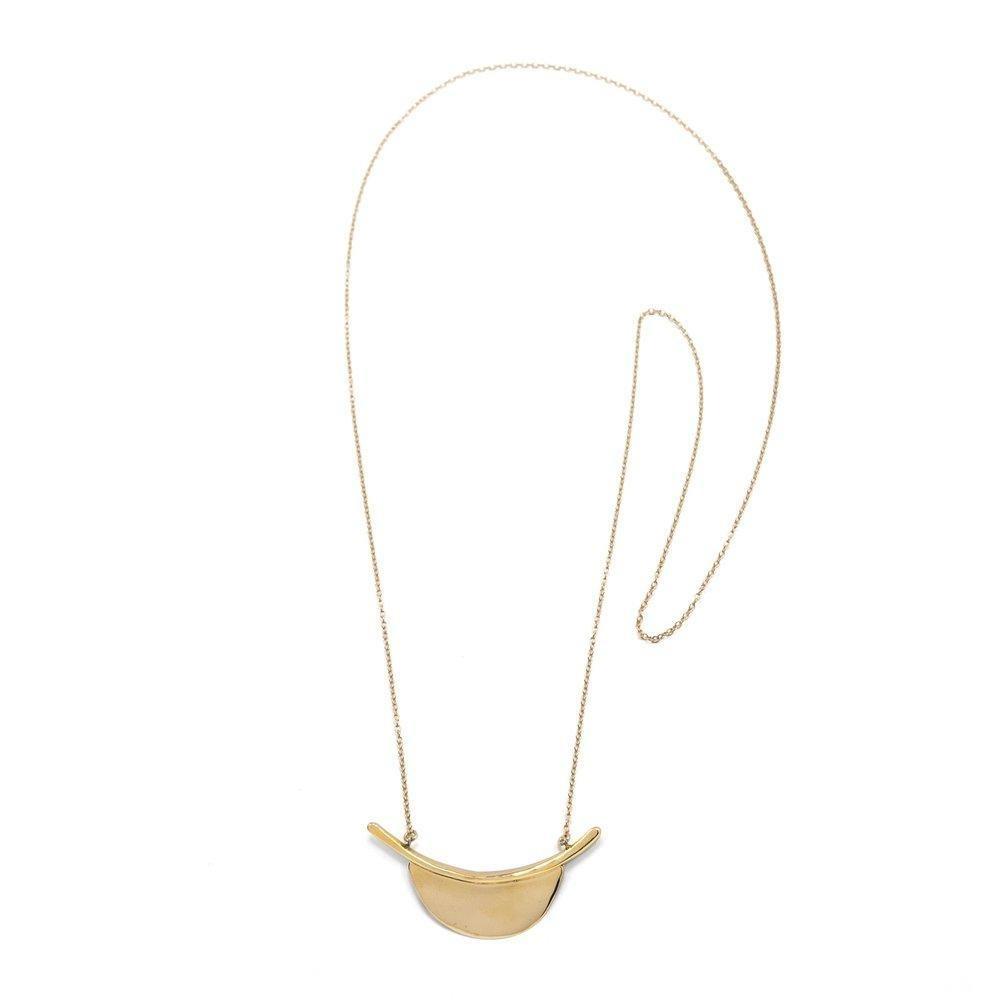 Marisa Mason Kyoto Necklace Brass w. GF chain