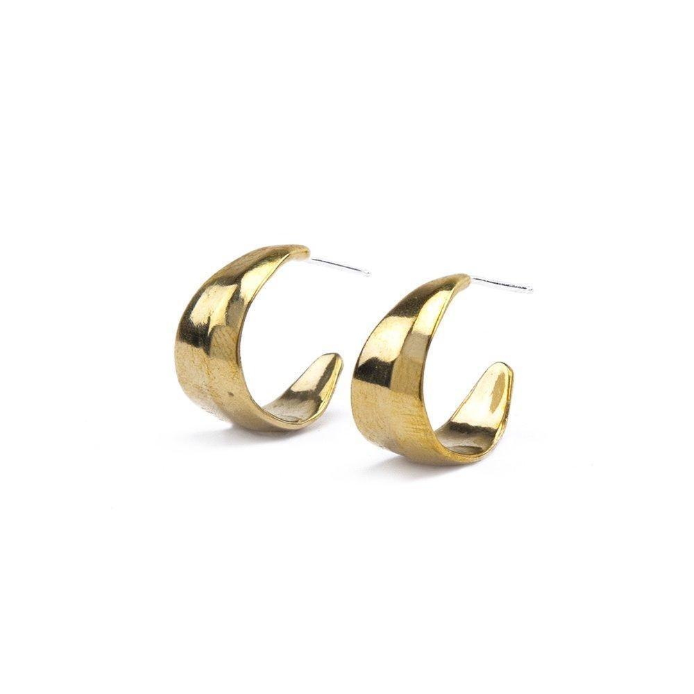Marisa Mason Pandora Brass Earrings