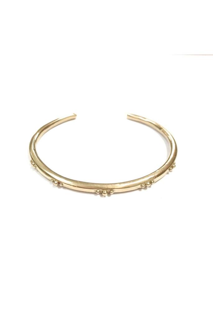 Marisa Mason Rose Brass Cuff