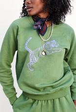 Clare V Tiger Raglan Sweatshirt