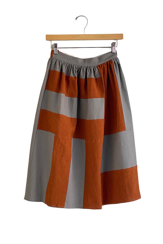 Correll Correll Becky Linen Skirt
